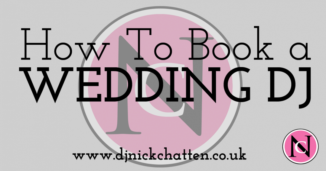 how to book a wedding dj